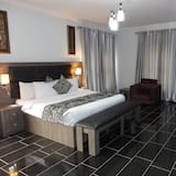 Номер-люкс із покращеним обслуговуванням, 1 ліжко «кінг-сайз», для некурців - Вітальня