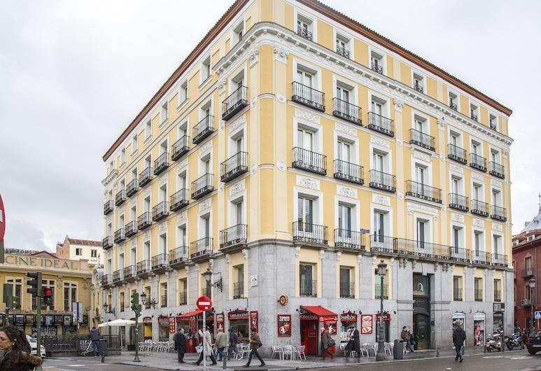Mola Hostel, Madryt, Fasada hotelu