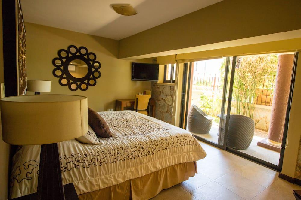Suite – junior, 1 kingsize-seng, utsikt mot hage (Perú) - Utsikt mot hage