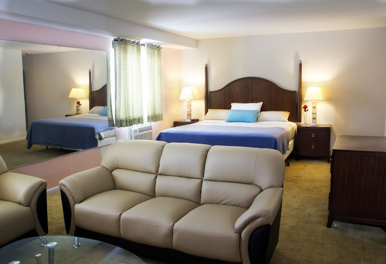 Chateau Suites, Norristown, Suite – president, Gjesterom