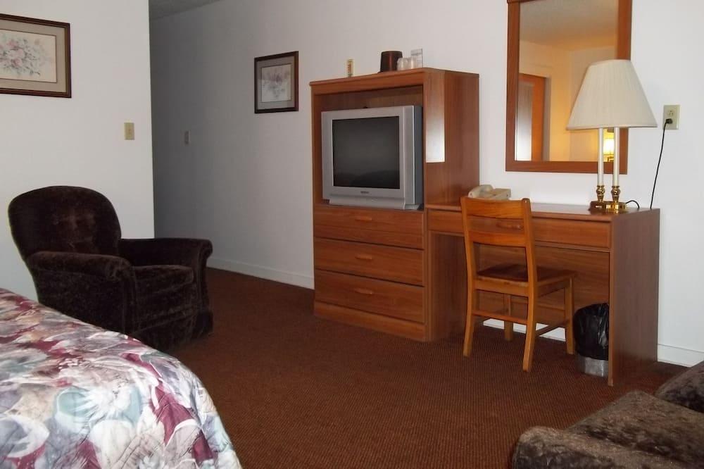 غرفة عادية - سرير ملكي - منطقة المعيشة
