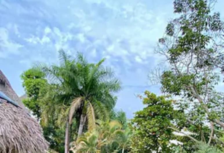 Hotel Villas Sayulita, Sayulita, Ático familiar, Varias camas, Vistas al jardín