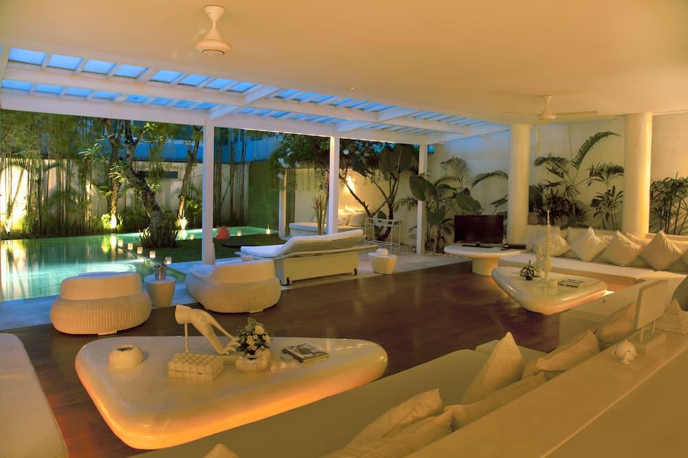 Villa - 4 soveværelser - privat pool - Stue