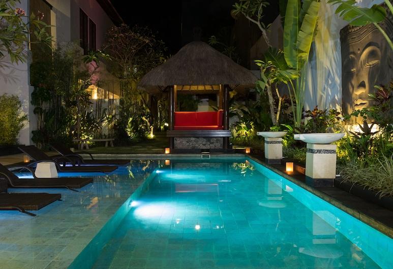 The Secret Villas, Seminyak, Biệt thự, 3 phòng ngủ, Hồ bơi riêng, Sân thượng/sân hiên