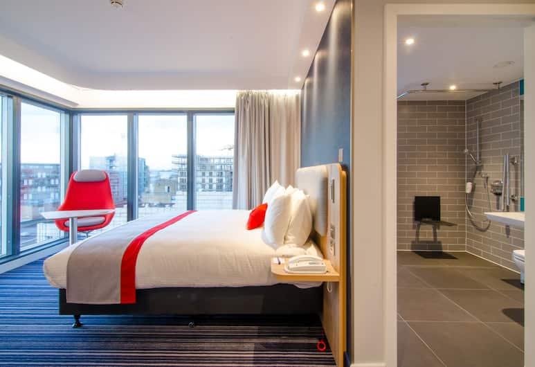 Holiday Inn Express London - Ealing, London, Kamar, 1 Tempat Tidur Double, akses difabel, non-smoking (Roll-In Shower), Kamar Tamu