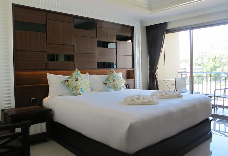 March Hotel Pattaya, Pattaya, Deluxe Double City View Room, Guest Room