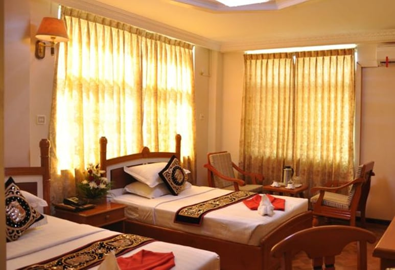 Golden City Crown Hotel, Mandalay, Chambre Triple Standard, Chambre
