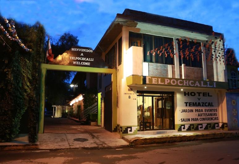 Telpochcalli Hotel & Temazcal, Teotivakana, Viesnīcas ieeja
