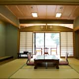 Japanese Style Room (20 tatami) with open air bath, Mountain View - Living Area