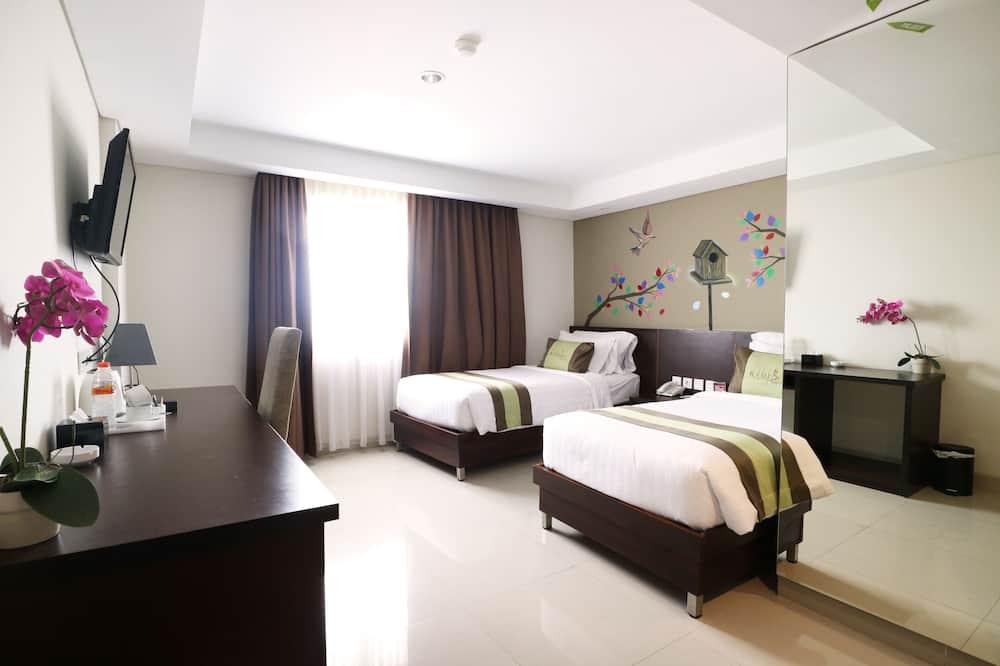 Pokój dwuosobowy z 1 lub 2 łóżkami typu Deluxe - Pokój