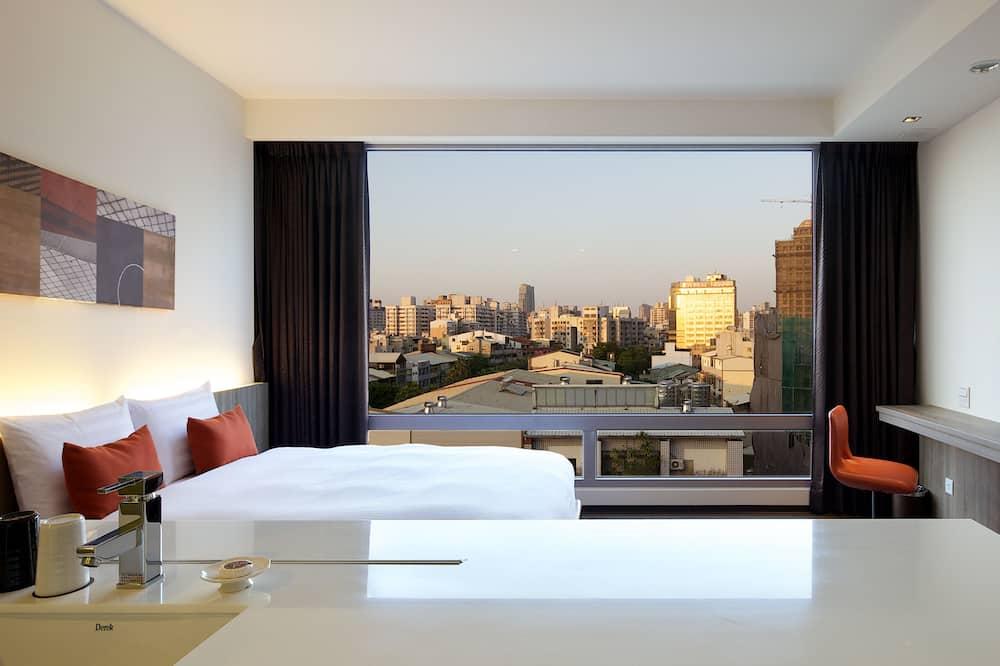 Business Double Room - Pemandangan Bilik Tamu