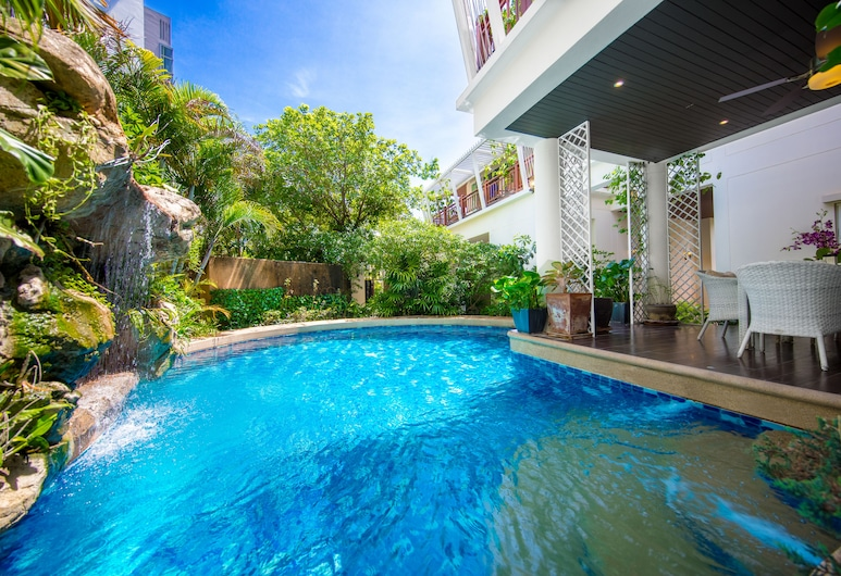 PARADISE Pool Villa Pattaya in Tropicana Village, Pattaya, Outdoor Pool