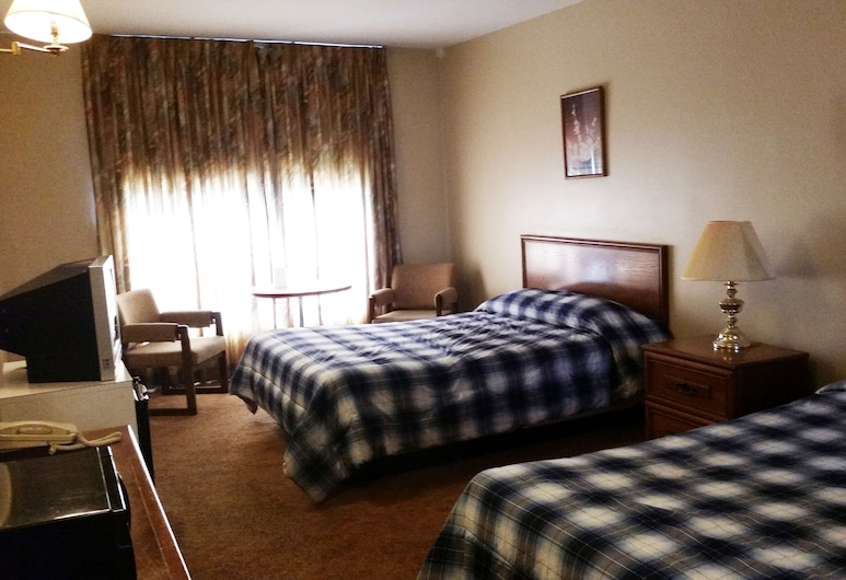The Olympia Motel, Niagara Falls, Chambre Classique, 2 grands lits, Chambre