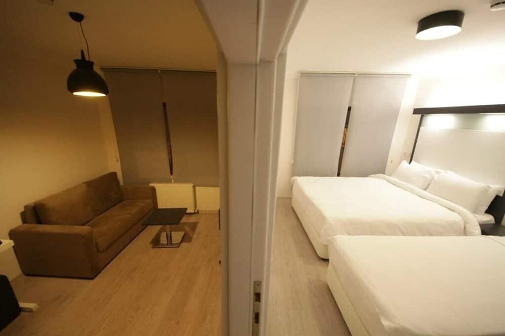 Komforta trīsvietīgs numurs - Dzīvojamā zona