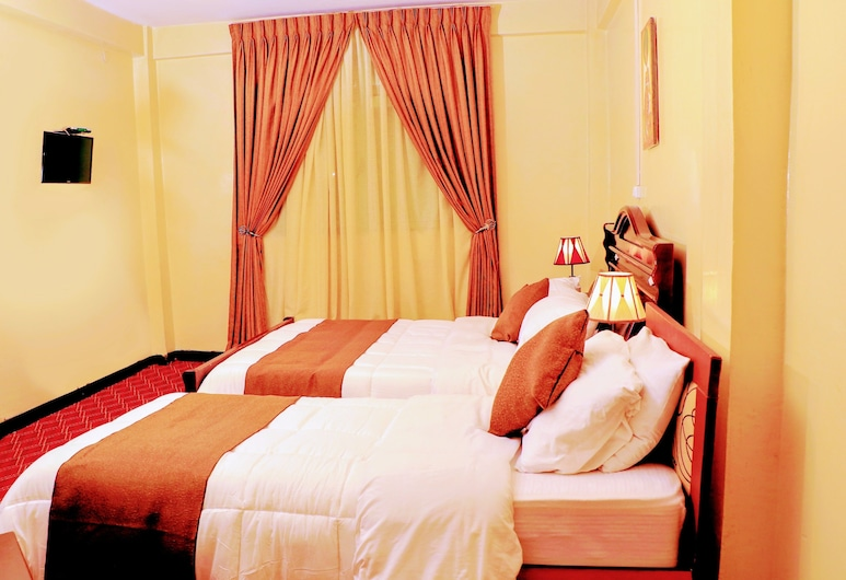 Keba Guest House, Addis Ababa, Deluxe Double or Twin Room, 1 Bedroom, Private Bathroom, Guest Room