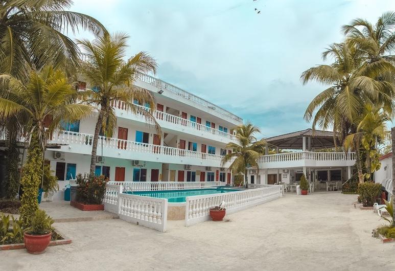 Hotel Boquilla Suites, Cartagena, Hotelgelände
