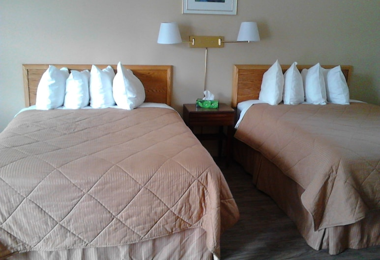 Wildwood Motel, Shelburne, Kamer, 2 tweepersoonsbedden, Kamer