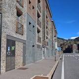 Apgyvendinimo įstaigos fasadas