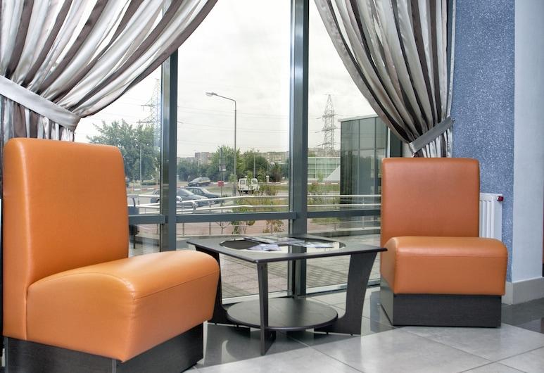 East Time Hotel, Minsk, Sitzecke in der Lobby