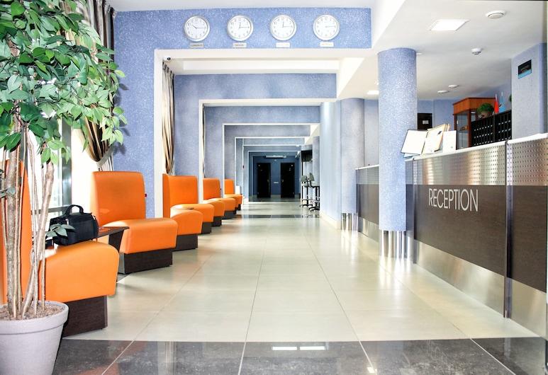 East Time Hotel, Minsk, Rezeption