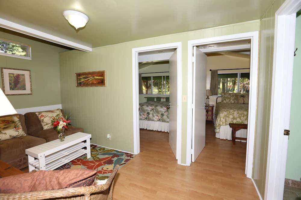 Standard tuba, 1 lai voodi, ühiskasutatav vannituba (Orchid) - Lõõgastumisala
