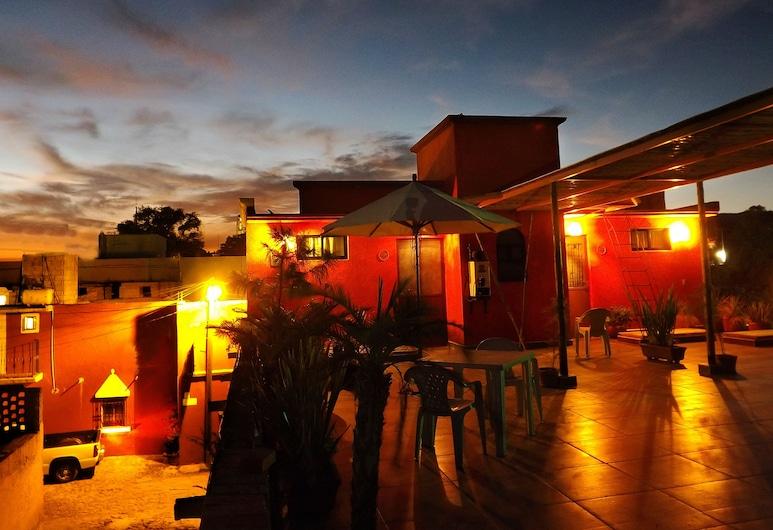 Posada del Fraile, Tepotzotlán, Terraza o patio