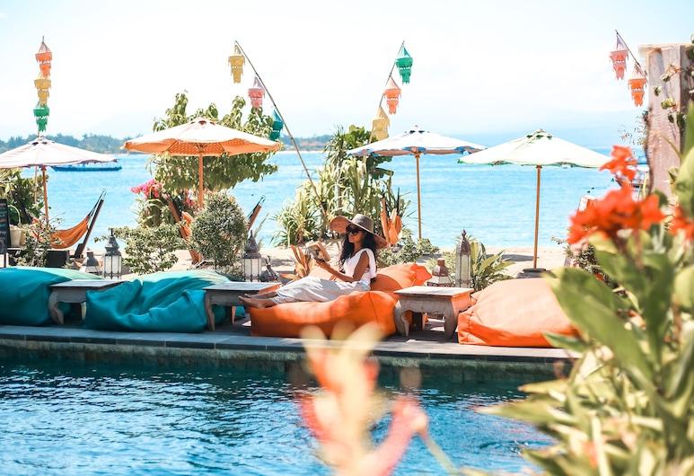 Pesona Beach Resort & Spa, Gili Trawangan, Façade de l'hôtel