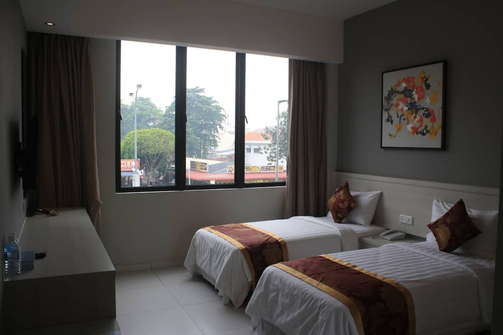 Habitación ejecutiva con 2 camas individuales (Deluxe) - Vista a la ciudad