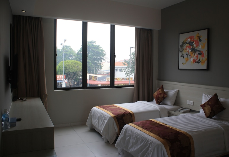 Aurora Hotel, Malacca City, Executive Twin Room (Deluxe), Pemandangan Bandar