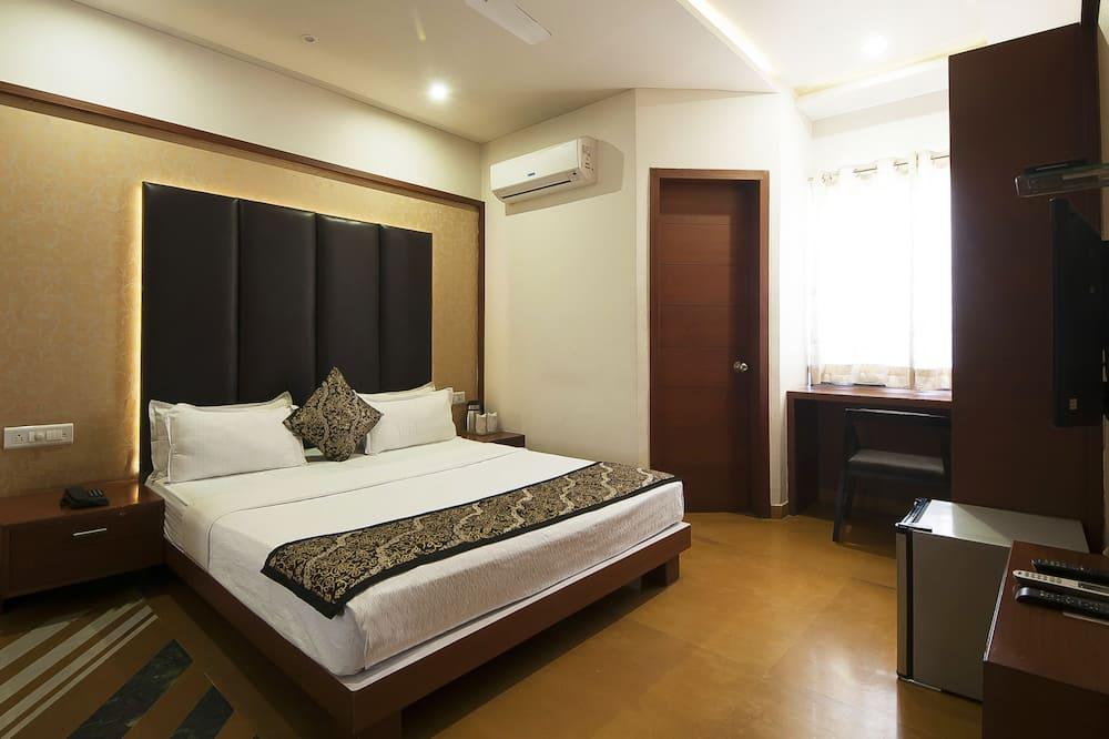 Luksus-dobbeltværelse - 1 dobbeltseng - Opholdsområde