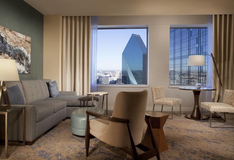 The Westin Dallas Downtown, Dallas, Junior suite, 1 slaapkamer, niet-roken, Kamer