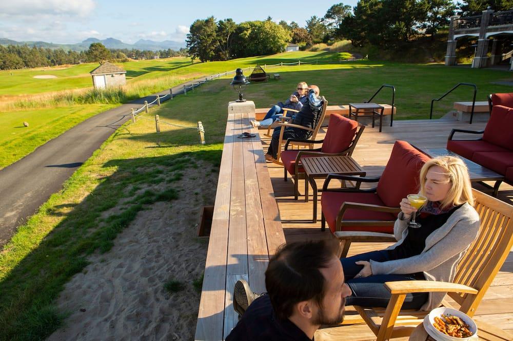 Vue sur le parcours de golf