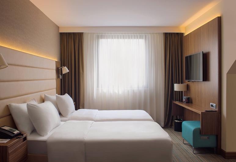 Courtyard Marriott Belgrade City Center, Belgrad, Standardzimmer, 2Einzelbetten, Nichtraucher, Zimmer