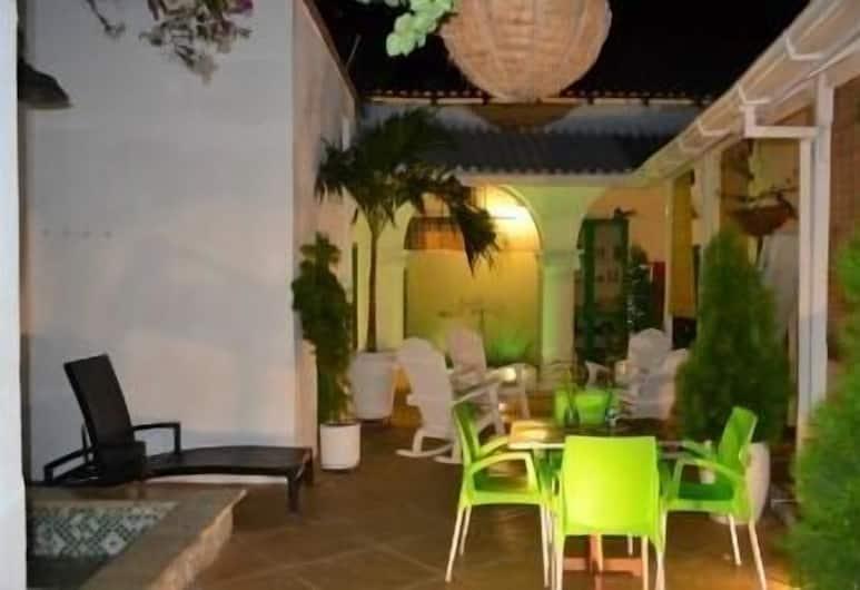 Hostel Green House Coffee - Bar, Cartagena, Teres/Laman Dalam
