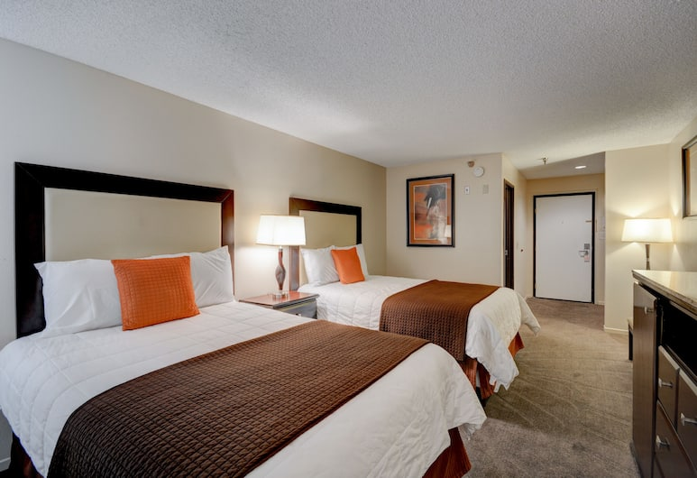 Longhorn Casino & Hotel, Las Vegas, Standard Double Room, 2 Double Beds, Guest Room