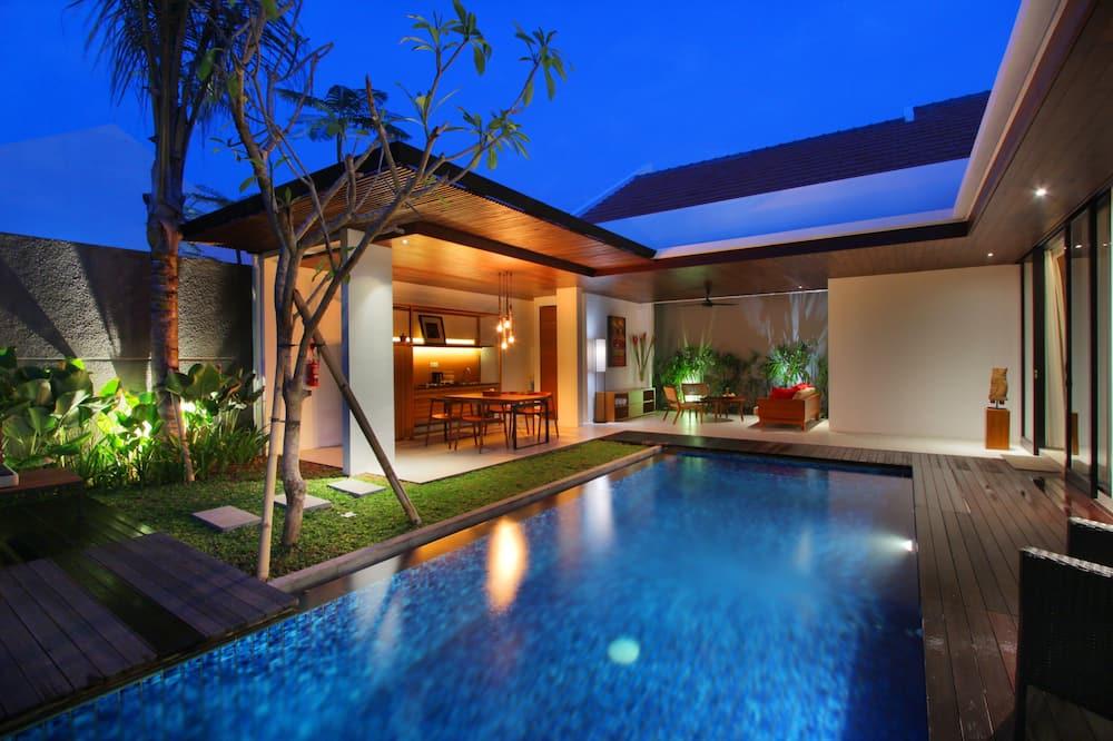 Vila, 2 kamar tidur, kolam renang pribadi - Teras/Patio