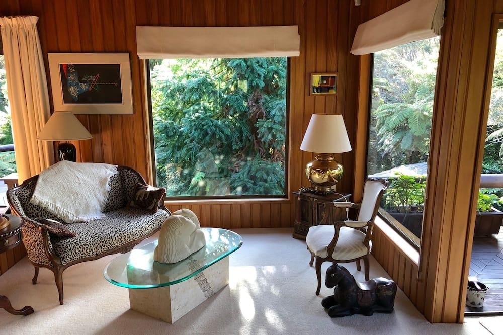 時尚小木屋, 2 間臥室, 公園景 - 客廳