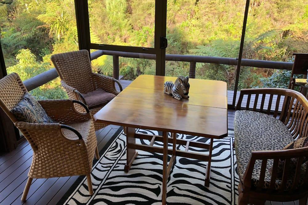時尚小木屋, 2 間臥室, 公園景 - 客房內用餐
