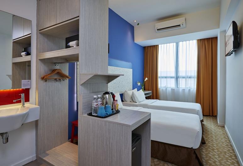 Swiss-Inn Johor Bahru, Džohor Baru, Dvivietis kambarys (2 viengulės lovos) su patogumais (Cosy), Svečių kambarys