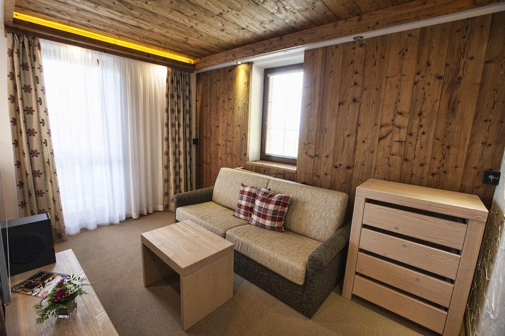 Deluxe apartman, 1 spavaća soba - Dnevni boravak