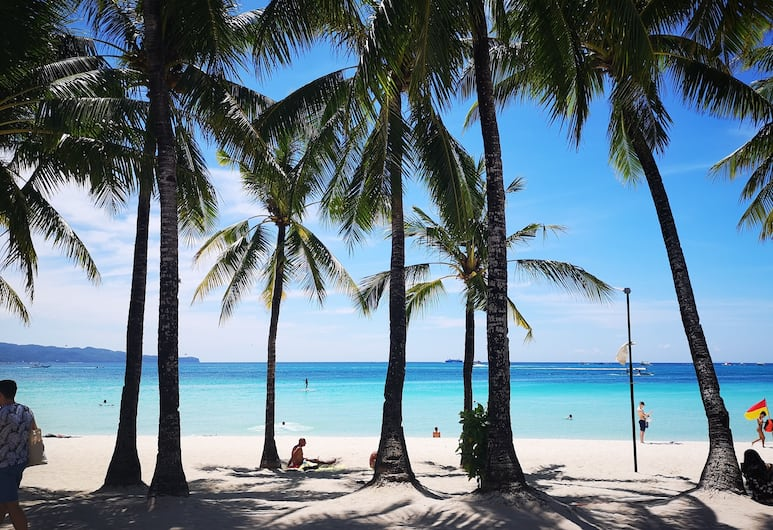 Calypso Beach & Dive Resort, Boracay Island, View from Hotel