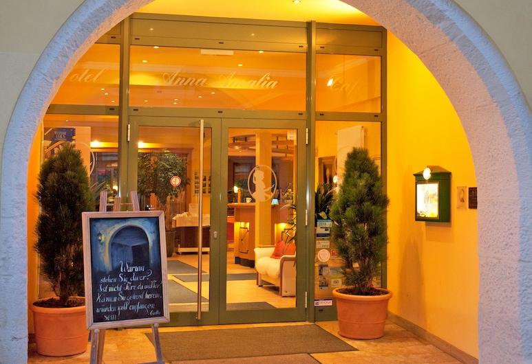 Hotel Anna Amalia, Weimar, Entrada del hotel