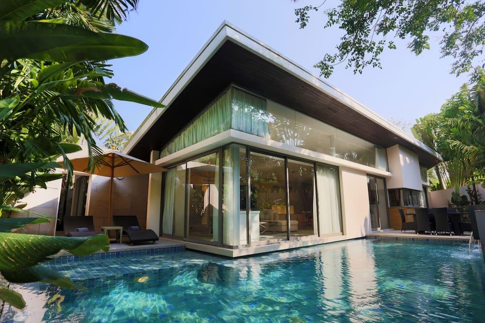 3 Bedrooms, Executive Pool Villa - Free Transfer to Dream Beach Club - Terraza o patio