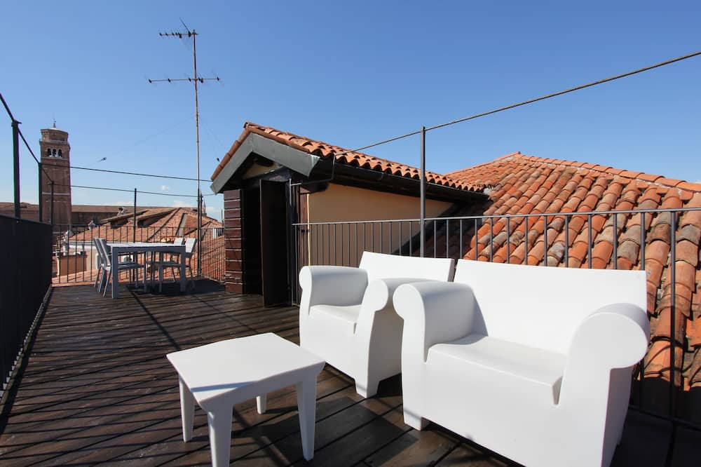 Apartment, 2 Bedrooms, Terrace, Canal View - Terrace/Patio