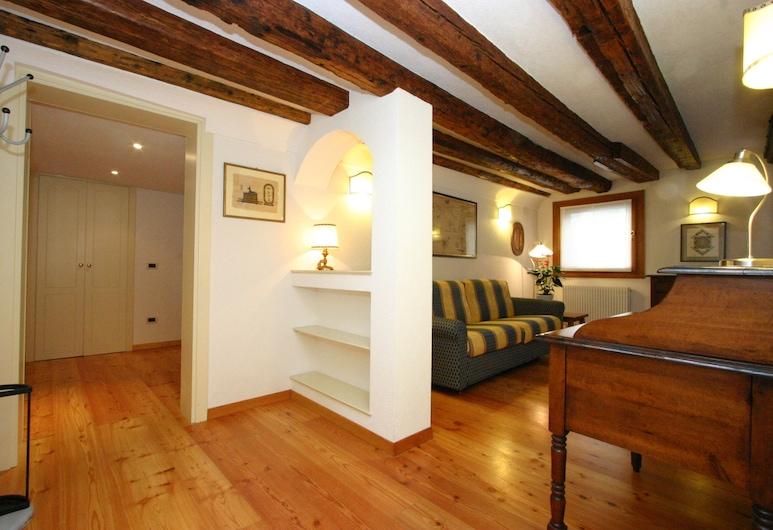 City Apartments - Residence Palazzo Moro, Венеция, Апартаменты, 2 спальни, Зона гостиной