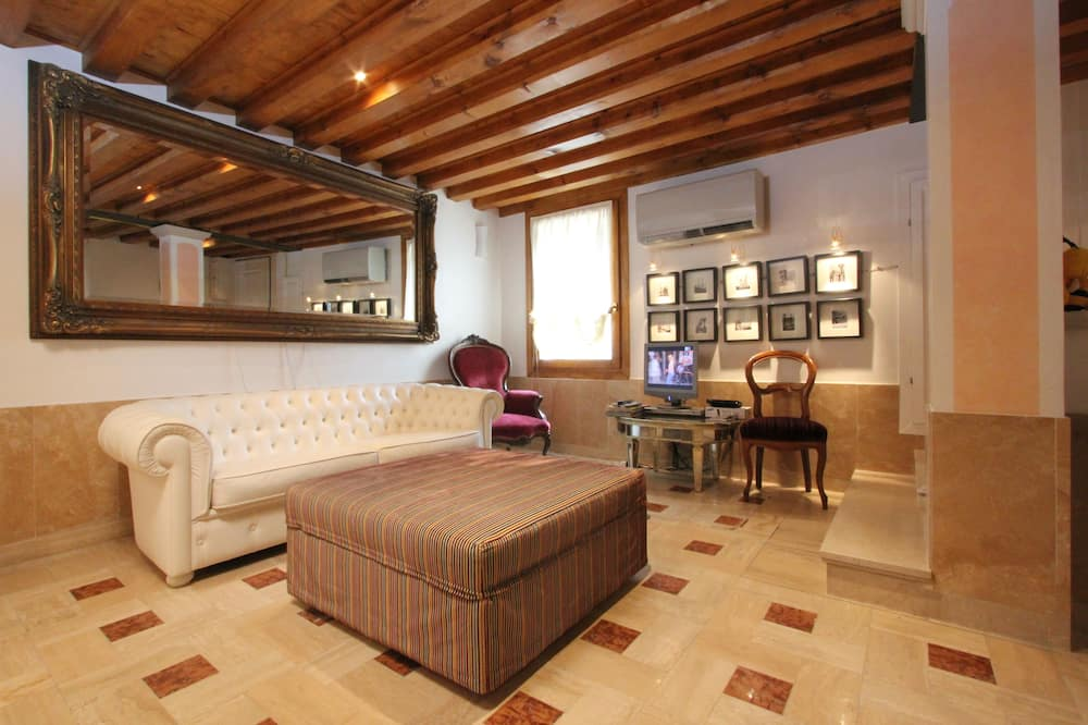 Appartement, 1 slaapkamer (Apt. Prince - Cannaregio 2482) - Woonruimte