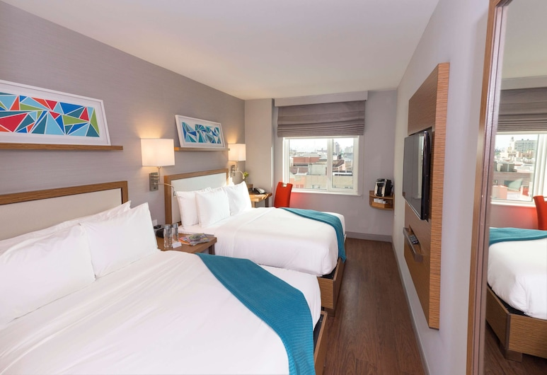 Edge Hotel, New York, Standard Double Room, 2 Double Beds, Accessible, Guest Room