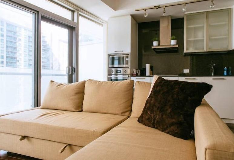JP 約克聖雷克夏飯但, 多倫多, 都會公寓客房, 1 間臥室, 客房