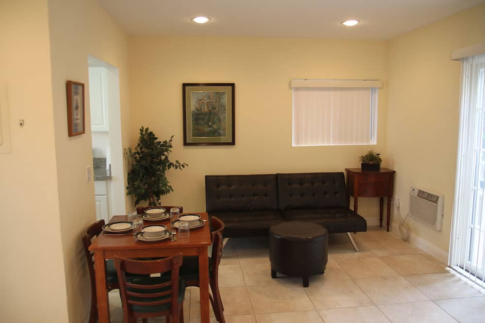 House, 1 Bedroom, Patio - Living Area