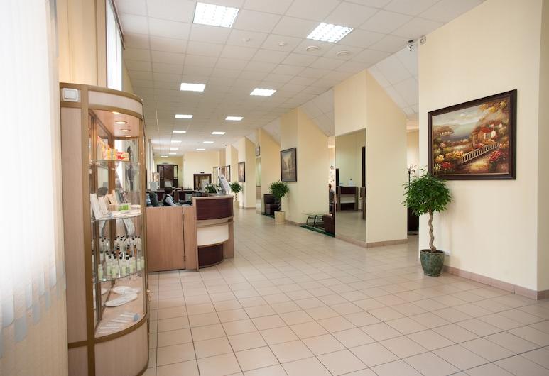 Hotel Business Tourist, מוסקבה, קבלה